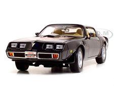 1979 PONTIAC FIREBIRD TRANS AM BLACK 1:18 DIECAST CAR BY ROAD SIGNATURE 92378