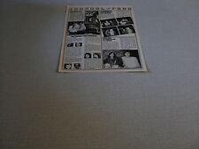 E251 BONEY M JANE BIRKIN CHARDEN GAINSBOURG CHANTAL GOYA '78 FRENCH CLIPPING