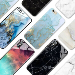 For Oppo Find X3 X2 lite, X2 neo, x2 pro Case Cover Tempereglass back Marble