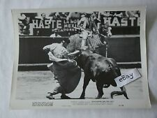 1951 BULLFIGHTER AND THE LADY Robert Stack Joy Page Movie Press Photo 8 x 10