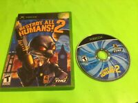Destroy All Humans 2 XBOX Game & Case * No Manual