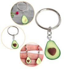 1PC Avocado Keyrings - Best Friend Keychains - BFF Keychain - Food Jewellery
