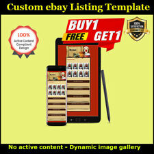 ebay Template, ebay Listing Template Friendly Responsive Antique Store Design