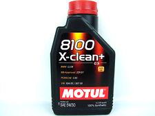 Motul 8100 X-CLEAN + 5w-30 ACEITE DE MOTOR 5w30 Diesel Gasolina 1x 1 Litro