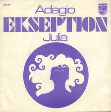 "EKSEPTION - Adagio / Julia (1970 NEDERPOP VINYL SINGLE 7"")"