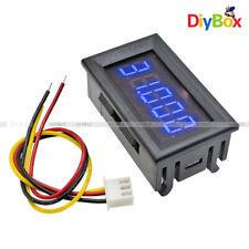 """Digital DC 0-33.000V 0.36"""" 5 Digits LED Voltmeter Voltage Meter Panel Volt AMP"""