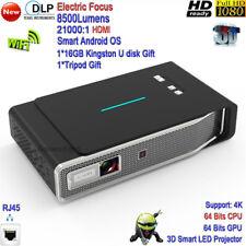 2020 New DLP 4K High Brightness 8500Lumens 3D Home Theater Cinema Tv Projector