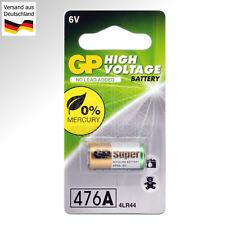 2 GP Alkaline Batterie 6 Volt 476A 4LR44 A544 L1325 L1325F 4A76 28A 4SR44 V DC
