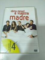Como Ho Incontrato A il Tuo Madre Quarta Stagione 4 Completa - 3 X DVD - 5T