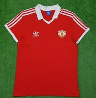 Manchester United 1980/1982 Adidas Originals Football Shirt Home Size M Jersey