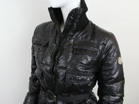 MONCLER WOMEN'S BLACK PUFFER JACKET SIZE 2