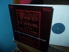 SCARLATTI: 20 Harpsichord sonatas > Huguette Dreyfus / Valois stereo LP France