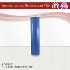 "1x Big Blue 20""x 4.5"" IRON and Manganese removal Water Filter"