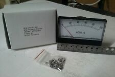 Panel Meter, 0 - 100 AC Volt Meter. 95 x 75mm