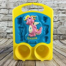 Dragon Tales Cassie Playdoh Character Molding Tray Canister Holder Hasbro 2000