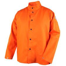 Revco Black Stallion 9 Oz Fr 30 Orange Cotton Welding Jacket Size Medium