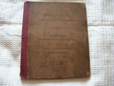 Postwick  &  Relatives Original 1867 Book By Thomas Harrison  Of  Gt. Plumstead