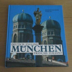 MUNCHEN MUNICH RAIMUND KUTTER DEUTSCH ENGLISH FRANCAIS ITALIANO HB