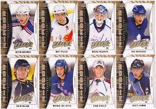 09-10 UD MVP Matt Pelech /100 Rookie GOLD Script Flames Upper Deck 2009