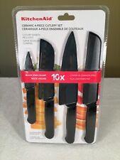🔴 KitchenAid Kitchen Aid Ceramic 4 Piece Knife Set Knives