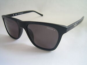 POLICE SUNGLASSES DRIFT 6 POLARISED S1812 703P MATTE BLACK BNWT GENUINE