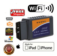 ELM327 USB OBD2 Auto Car Engine Chip Scanner Adapter Diagnostic Tool Code Reader