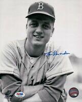 Tommy Lasorda Signed 8X10 Photo Autograph Dodgers Vintage Headshot Auto PSA/DNA