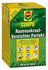COMPO Beste Rasenunkraut-Vernichter Perfekt Flüssiges Rasenherbizid-Konzentrat