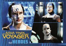 Star Trek Voyager Heroes & Villains GOLD PARALLEL Base Card #51 - 036/100