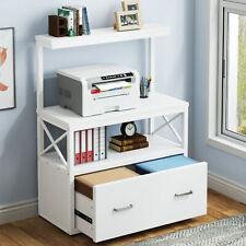 Modern File Cabinet Filing Cabinet With Large Drawer Multi Usage Office Desk