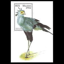 Maldives, Sc #2261, MNH, 1997, S/S, Secretary Bird, 6IHI