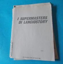I SUPERMASTERS DI LANCIOSTORY volume I (ed. Eura 1983 - inserti da rilegare)