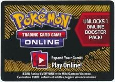 10x Pokemon TCGO Online Next Destinies Unused Code Card
