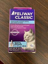 New Feliway 48 ml Refill Diffuser Plug-in Cat Feline Stress Behavior Relief