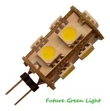 G4 9 SMD LED 12V (10-30V DC / 12-18V AC) 1.5W 140LM WHITE BULB ~10W