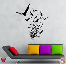 Wall Stickers Vinyl Decal Birds Creepy Scary Horror Decor Living Room  (z2144)