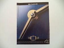 advertising Pubblicità 1997 ROLEX CELLINI
