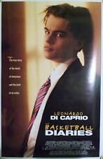 THE BASKETBALL DIARIES DS ROLLED ORIG 1SH LEONARDO DICAPRIO JIM CARROLL BIO 1995