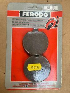 Ferodo FDB150 Brake Pads Suzuki GS750 GS850 GS400 GS425E (EBC FA35)