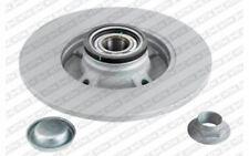 2x SNR Disques de Frein Arrière Plein 249mm pour PEUGEOT 208 207 307 KF159.57U