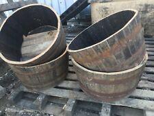 Whisky Barrel oak planter/tub