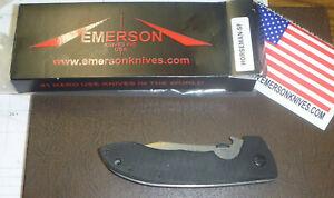Emerson Knives HORSEMAN-SF Mini CQC-8 SF UNUSED NOS IN BOX