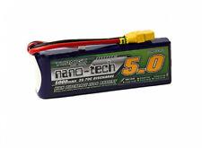 Turnigy Nano-Tech 5000mAh 3S 11.1V 35C 70C Lipo Battery XT90 3D Pilot Race Drone