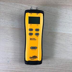 Fieldpiece SDMN5 Dual Port Manometer - Gas & Static Pressure Differential