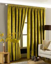 Cortinas y visillos dormitorio de poliéster de color principal verde