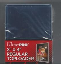 Pack of 25 Ultra Pro 3x4 Regular Clear Rigid Top Loaders Contact about discounts