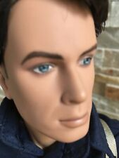 "TONNER Torchwood JACK HARKNESS Athletic Body 17"" Vinyl Male DOLL Dressed w/Stand"