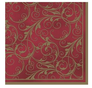 Napkins for Decoupage Dining Decorations Vintage Luxury 33x33cm 3PLY 20 Pack