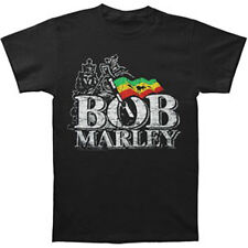 BOB MARLEY - Distressed Logo T-shirt - NEW - SMALL ONLY