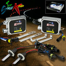 9007 HID KIT 10000K 10K DEEP BLUE LIGHT/LIGHTS PLUG AND PLAY + BULBS + BALLASTS